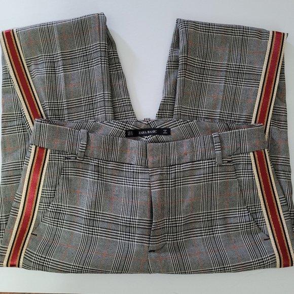 ZARA Plaid dress Pants.